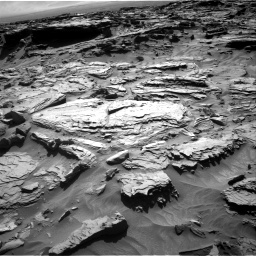 Nasa's Mars rover Curiosity acquired this image using its Right Navigation Camera on Sol 1284, at drive 1966, site number 53