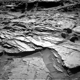 Nasa's Mars rover Curiosity acquired this image using its Right Navigation Camera on Sol 1284, at drive 1984, site number 53