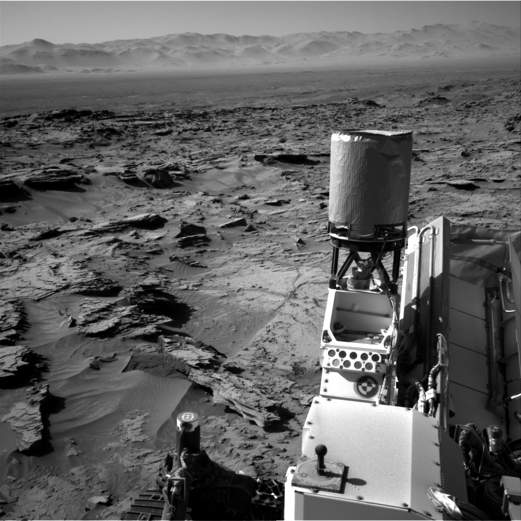 Nasa's Mars rover Curiosity acquired this image using its Right Navigation Camera on Sol 1284, at drive 1990, site number 53
