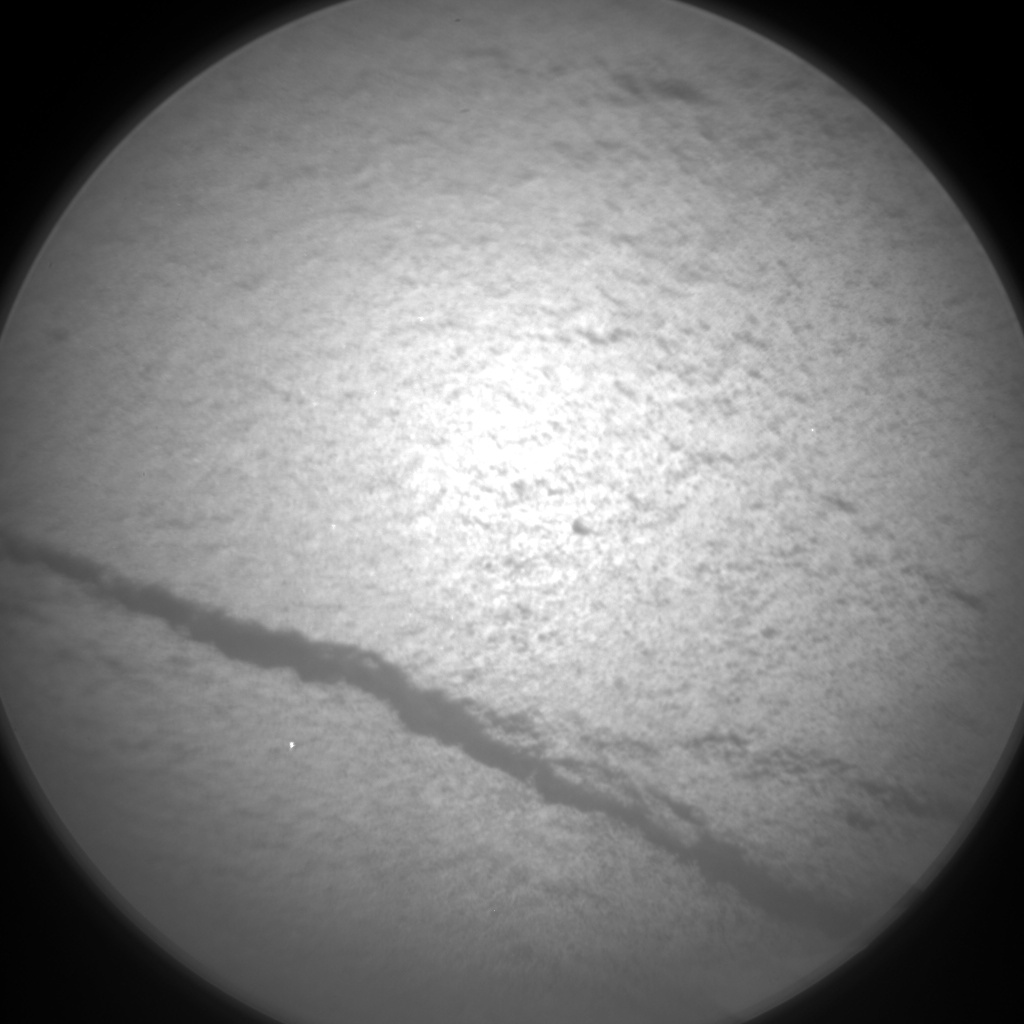 Nasa's Mars rover Curiosity acquired this image using its Chemistry & Camera (ChemCam) on Sol 1285, at drive 1990, site number 53