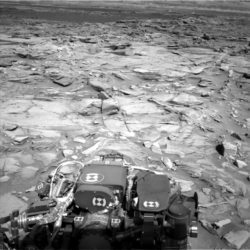 Nasa's Mars rover Curiosity acquired this image using its Left Navigation Camera on Sol 1285, at drive 1994, site number 53