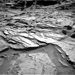 Nasa's Mars rover Curiosity acquired this image using its Right Navigation Camera on Sol 1285, at drive 1990, site number 53