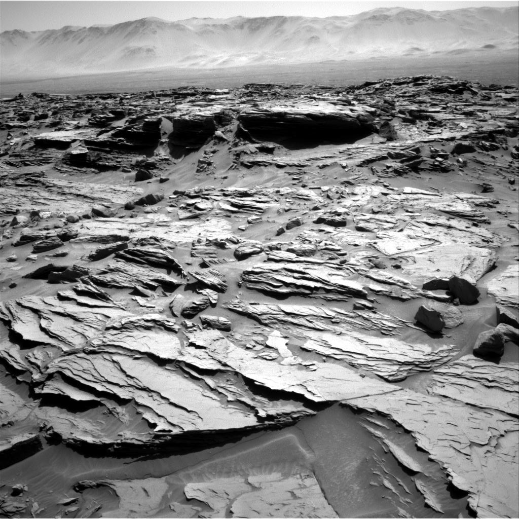 Nasa's Mars rover Curiosity acquired this image using its Right Navigation Camera on Sol 1288, at drive 1994, site number 53