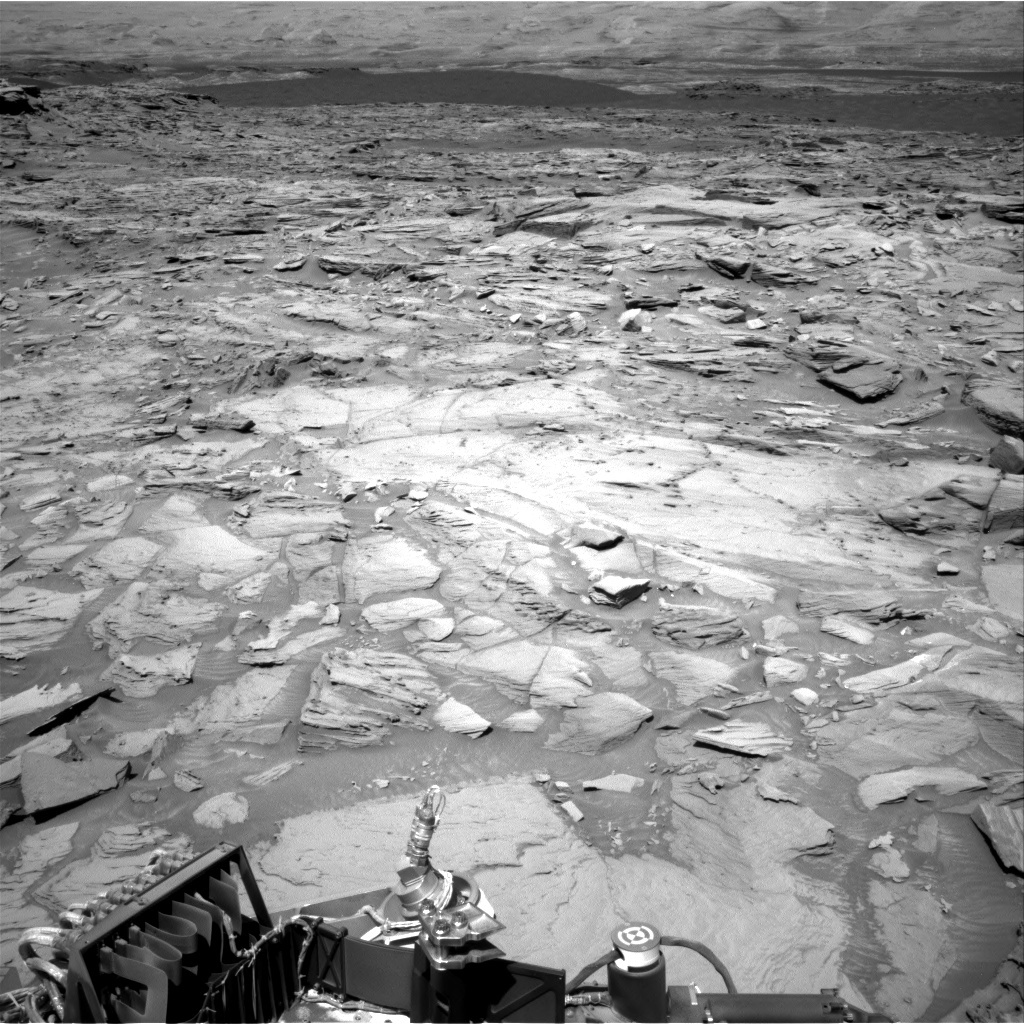 NASA's Mars rover Curiosity acquired this image using its Right Navigation Cameras (Navcams) on Sol 1288
