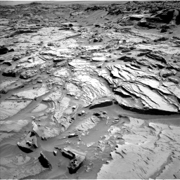 Nasa's Mars rover Curiosity acquired this image using its Left Navigation Camera on Sol 1289, at drive 2012, site number 53