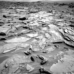 Nasa's Mars rover Curiosity acquired this image using its Left Navigation Camera on Sol 1289, at drive 2018, site number 53