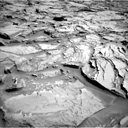 Nasa's Mars rover Curiosity acquired this image using its Left Navigation Camera on Sol 1289, at drive 2042, site number 53