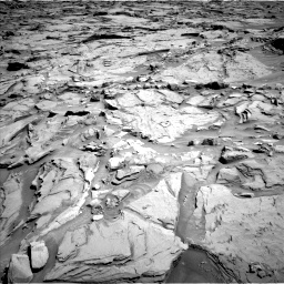 Nasa's Mars rover Curiosity acquired this image using its Left Navigation Camera on Sol 1289, at drive 2066, site number 53