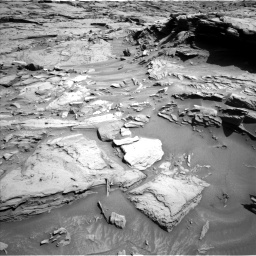 Nasa's Mars rover Curiosity acquired this image using its Left Navigation Camera on Sol 1289, at drive 2084, site number 53