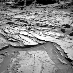 Nasa's Mars rover Curiosity acquired this image using its Right Navigation Camera on Sol 1289, at drive 1994, site number 53