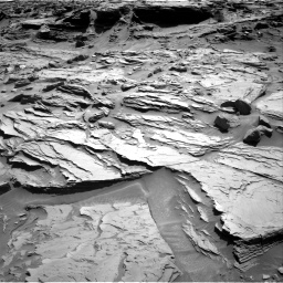 Nasa's Mars rover Curiosity acquired this image using its Right Navigation Camera on Sol 1289, at drive 2000, site number 53