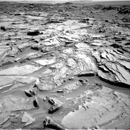 Nasa's Mars rover Curiosity acquired this image using its Right Navigation Camera on Sol 1289, at drive 2018, site number 53