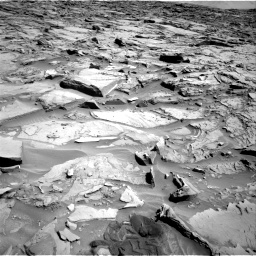 Nasa's Mars rover Curiosity acquired this image using its Right Navigation Camera on Sol 1289, at drive 2030, site number 53
