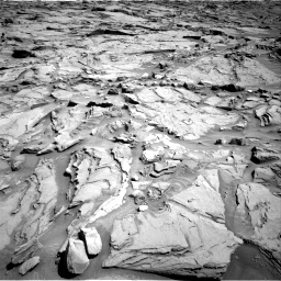 Nasa's Mars rover Curiosity acquired this image using its Right Navigation Camera on Sol 1289, at drive 2060, site number 53