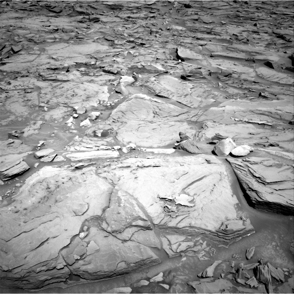 Nasa's Mars rover Curiosity acquired this image using its Right Navigation Camera on Sol 1289, at drive 2078, site number 53