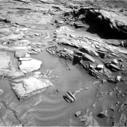 Nasa's Mars rover Curiosity acquired this image using its Right Navigation Camera on Sol 1289, at drive 2102, site number 53