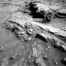 Nasa's Mars rover Curiosity acquired this image using its Right Navigation Camera on Sol 1289, at drive 2114, site number 53