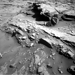 Nasa's Mars rover Curiosity acquired this image using its Right Navigation Camera on Sol 1289, at drive 2120, site number 53