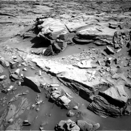 Nasa's Mars rover Curiosity acquired this image using its Right Navigation Camera on Sol 1289, at drive 2126, site number 53