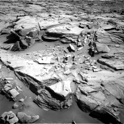 Nasa's Mars rover Curiosity acquired this image using its Right Navigation Camera on Sol 1289, at drive 2132, site number 53
