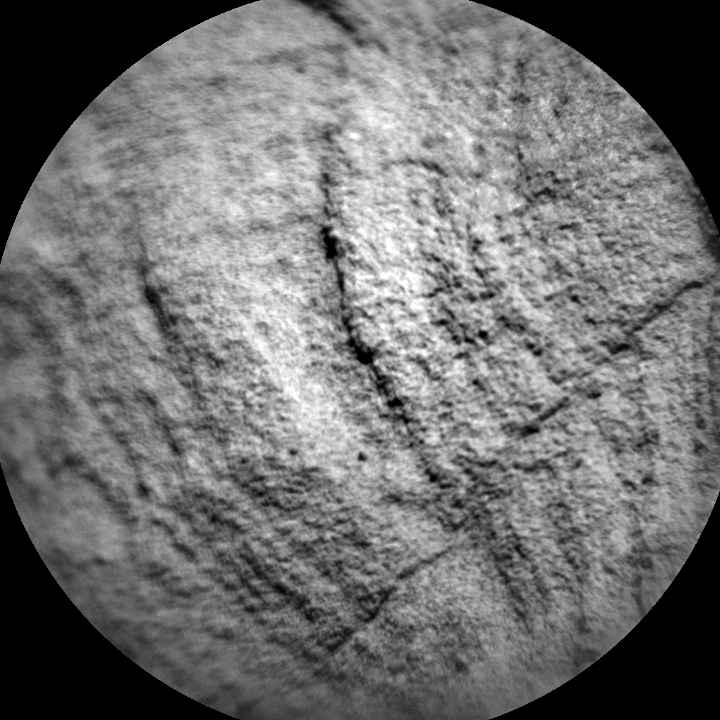 Nasa's Mars rover Curiosity acquired this image using its Chemistry & Camera (ChemCam) on Sol 1289, at drive 1994, site number 53