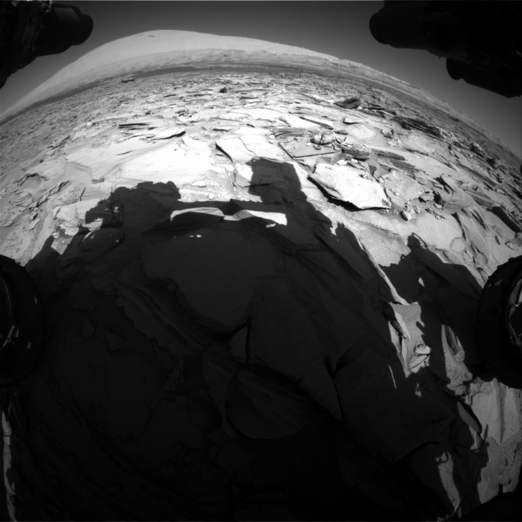 Nasa's Mars rover Curiosity acquired this image using its Front Hazard Avoidance Camera (Front Hazcam) on Sol 1290, at drive 2298, site number 53