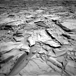 Nasa's Mars rover Curiosity acquired this image using its Left Navigation Camera on Sol 1290, at drive 2162, site number 53