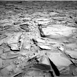 Nasa's Mars rover Curiosity acquired this image using its Left Navigation Camera on Sol 1290, at drive 2180, site number 53