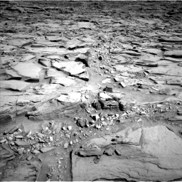 Nasa's Mars rover Curiosity acquired this image using its Left Navigation Camera on Sol 1290, at drive 2222, site number 53