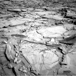 Nasa's Mars rover Curiosity acquired this image using its Left Navigation Camera on Sol 1290, at drive 2258, site number 53