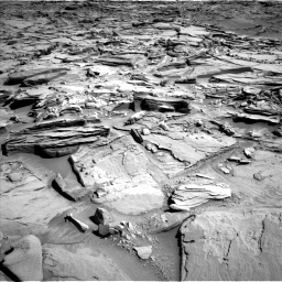 Nasa's Mars rover Curiosity acquired this image using its Left Navigation Camera on Sol 1290, at drive 2276, site number 53