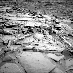 Nasa's Mars rover Curiosity acquired this image using its Left Navigation Camera on Sol 1290, at drive 2294, site number 53