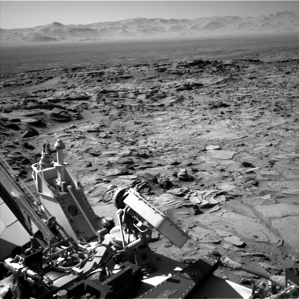Nasa's Mars rover Curiosity acquired this image using its Left Navigation Camera on Sol 1290, at drive 2298, site number 53