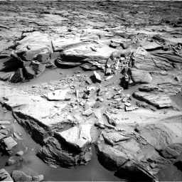 Nasa's Mars rover Curiosity acquired this image using its Right Navigation Camera on Sol 1290, at drive 2138, site number 53
