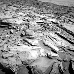 Nasa's Mars rover Curiosity acquired this image using its Right Navigation Camera on Sol 1290, at drive 2144, site number 53