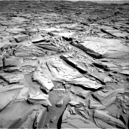 Nasa's Mars rover Curiosity acquired this image using its Right Navigation Camera on Sol 1290, at drive 2150, site number 53
