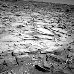 Nasa's Mars rover Curiosity acquired this image using its Right Navigation Camera on Sol 1290, at drive 2204, site number 53