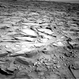 Nasa's Mars rover Curiosity acquired this image using its Right Navigation Camera on Sol 1290, at drive 2210, site number 53