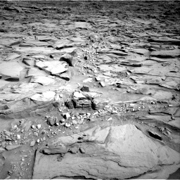 Nasa's Mars rover Curiosity acquired this image using its Right Navigation Camera on Sol 1290, at drive 2222, site number 53