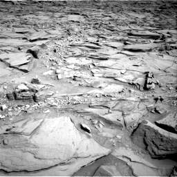 Nasa's Mars rover Curiosity acquired this image using its Right Navigation Camera on Sol 1290, at drive 2228, site number 53