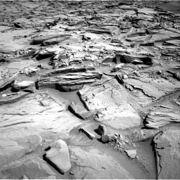 Nasa's Mars rover Curiosity acquired this image using its Right Navigation Camera on Sol 1290, at drive 2270, site number 53