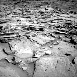 Nasa's Mars rover Curiosity acquired this image using its Right Navigation Camera on Sol 1290, at drive 2276, site number 53