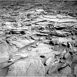 Nasa's Mars rover Curiosity acquired this image using its Right Navigation Camera on Sol 1290, at drive 2282, site number 53