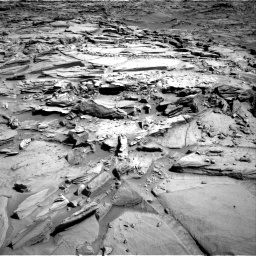 Nasa's Mars rover Curiosity acquired this image using its Right Navigation Camera on Sol 1290, at drive 2288, site number 53