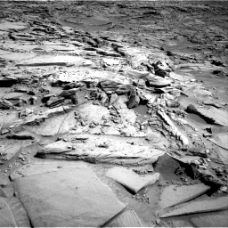 Nasa's Mars rover Curiosity acquired this image using its Right Navigation Camera on Sol 1290, at drive 2294, site number 53
