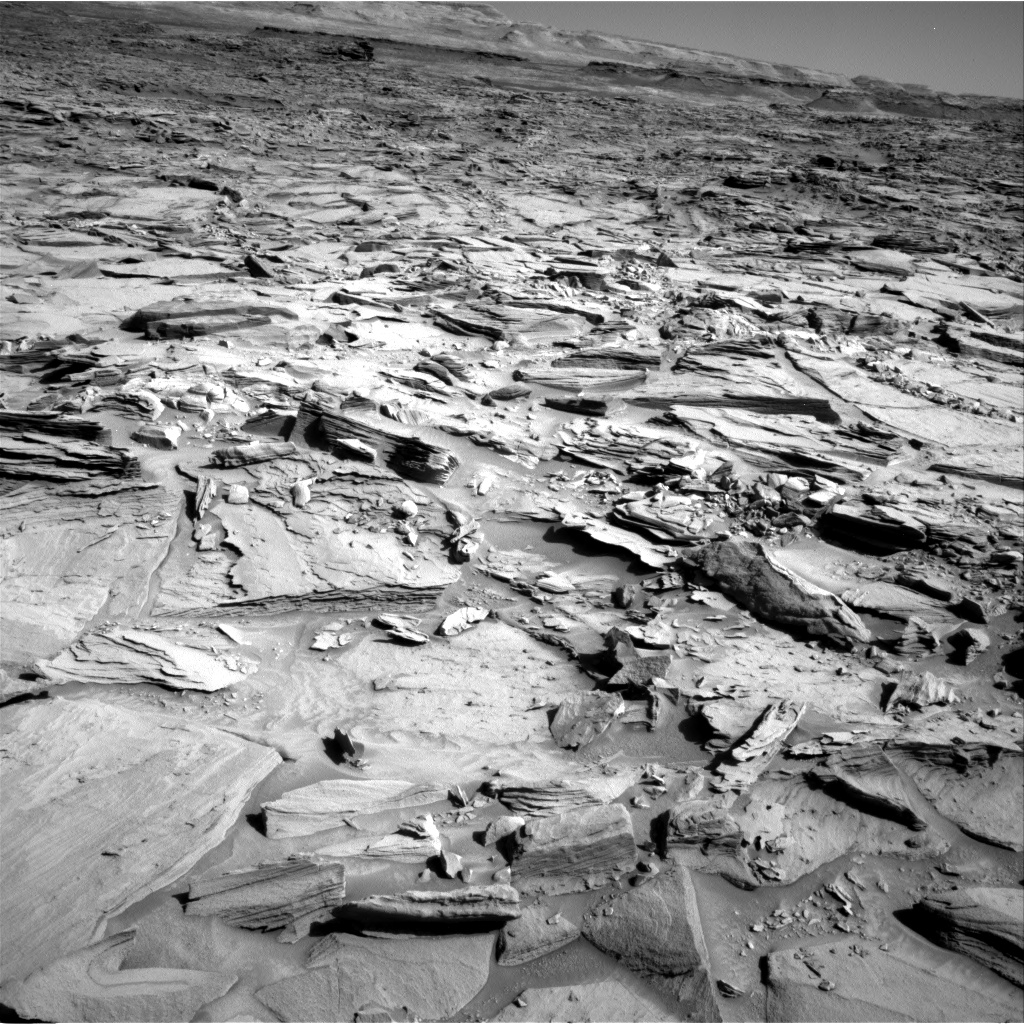 Nasa's Mars rover Curiosity acquired this image using its Right Navigation Camera on Sol 1290, at drive 2298, site number 53