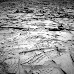 Nasa's Mars rover Curiosity acquired this image using its Left Navigation Camera on Sol 1292, at drive 2358, site number 53