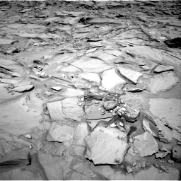 Nasa's Mars rover Curiosity acquired this image using its Right Navigation Camera on Sol 1292, at drive 2304, site number 53