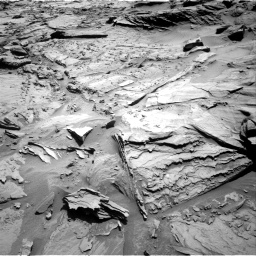 Nasa's Mars rover Curiosity acquired this image using its Right Navigation Camera on Sol 1292, at drive 2376, site number 53