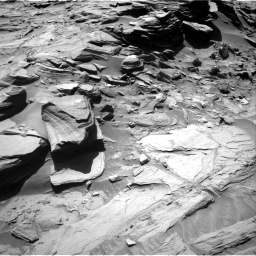 Nasa's Mars rover Curiosity acquired this image using its Right Navigation Camera on Sol 1292, at drive 2394, site number 53